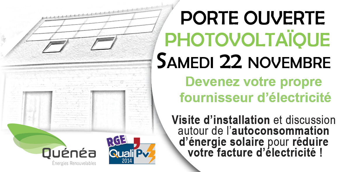 Porte ouverte photovoltaïque à Carhaix le Samedi  22 novembre 2014
